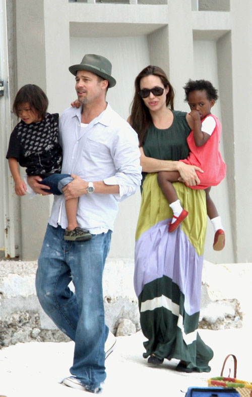 Brangelina and family