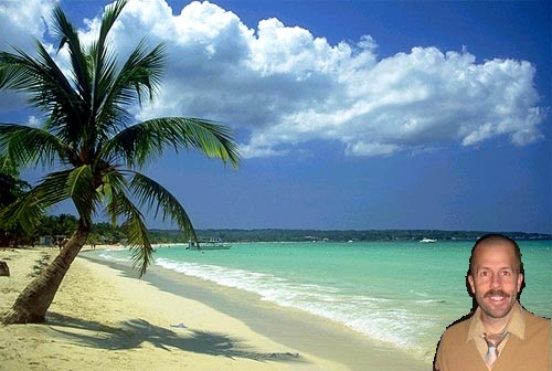 me in Jamaica.