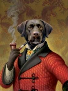 smoking_dog