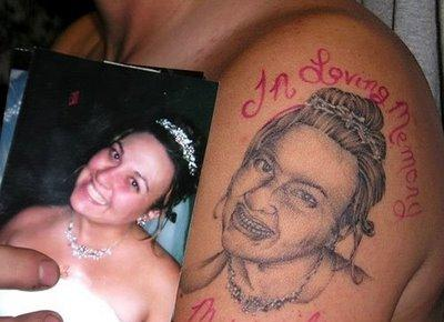 one of the most famous bad tattoos.