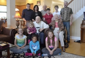 Pop with family