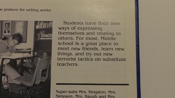 """""""terrorist tactics""""... um, yeah, that's a no no."""
